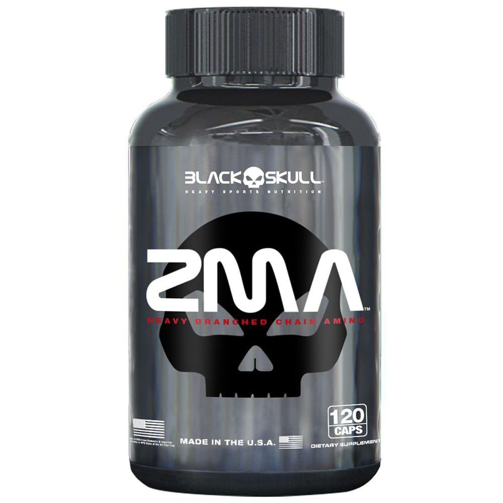 ZMA 120 Tabs - Black Skull  - Personall Suplementos