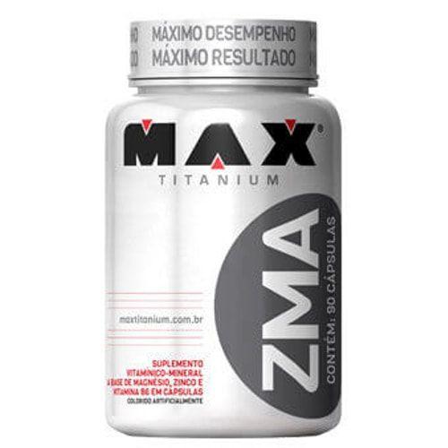 ZMA 90 caps - Max Titanium  - Personall Suplementos