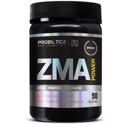 Zma Power 90caps - Probiótica  - Personall Suplementos