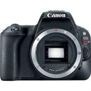 Câmera DSLR Canon EOS Rebel SL2 (preta, apenas o corpo)