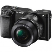 Camera Sony Alpha a6000 Mirrorless Digital  with 16-50mm Lens (Black)
