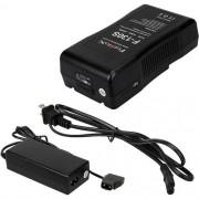 FotodioX - Kit de carregador de bateria portátil de montagem em V