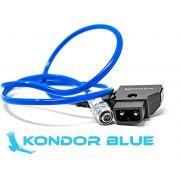 """KONDOR BLUE 20"""" D-Tap to BMPCC 6K 4K Power Cable for Blackmagic Pocket Cinema Camera 4K/6K. Gold Mount V Mount Battery P TAP Weipu"""