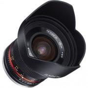 Lente Rokinon 12mm f / 2.0 NCS CS para Canon EF-M Mount