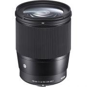 Lente Sigma 16mm 1.4 para Sony (E-mount)