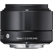 Lente Sigma 19mm f/2.8 DN Lens for Sony E-mount Cameras (Black)