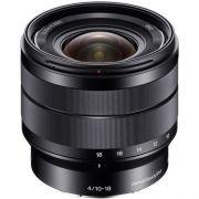 Lente Sony E 10-18mm f/4 OSS