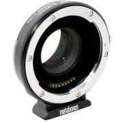 Metabones Adaptador T Speed Booster XL 0,64x para lente de montagem EF de quadro completo da Canon para selecionar câmeras de montagem com quatro terços