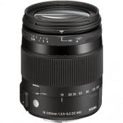 Lente Sigma 18-200mm F3.5-6.3 Contemporary DC Macro OS HSM Lens for Canon