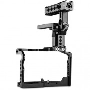 SmallRig 2052 Cage with Helmet Kit for Panasonic LUMIX GH5/5S & DMW-XLR1