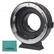 Viltrox EF-M1 Adaptador de montagem de lente AF Estabilização automática de controle de abertura de foco VR para Canon EF / EF-S Lens para M4/3 Micro Four Thirds Camera para Panasonic GH5/4/3 Olympus