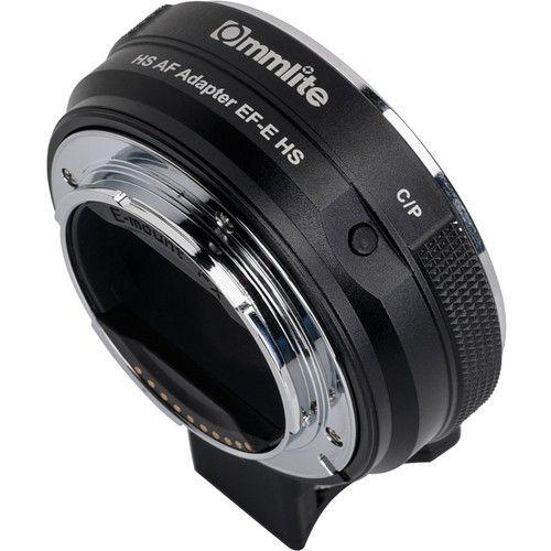 Adaptador Commlite CM-Ef-e-HS para Lente Canon para Camera Sony