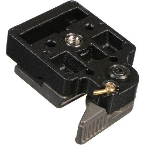 Adaptador de liberação rápida do sistema Manfrotto 323 RC2 com placa 200PL-14