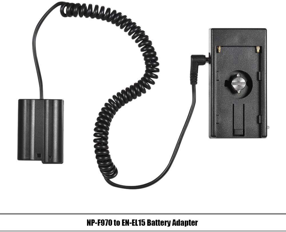 Andoer NP-F970 para EN-EL15 Dummy Battery
