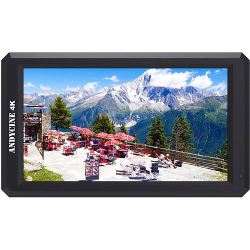 """ANDYCINE A6 5.7"""" Full HD HDMI On-Camera Monitor with 4K Support/DC Out/Tilt Arm"""