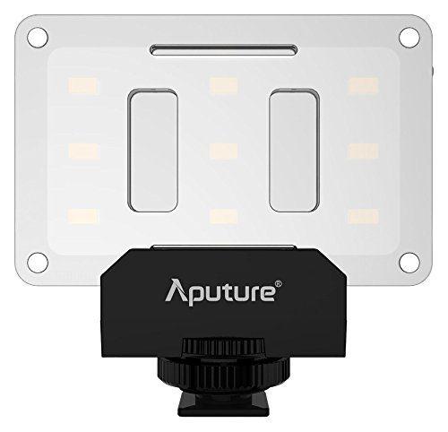 Aputure AL-M9 Amaran LED Mini Luz na Luz de Vídeo da Câmera, Preto