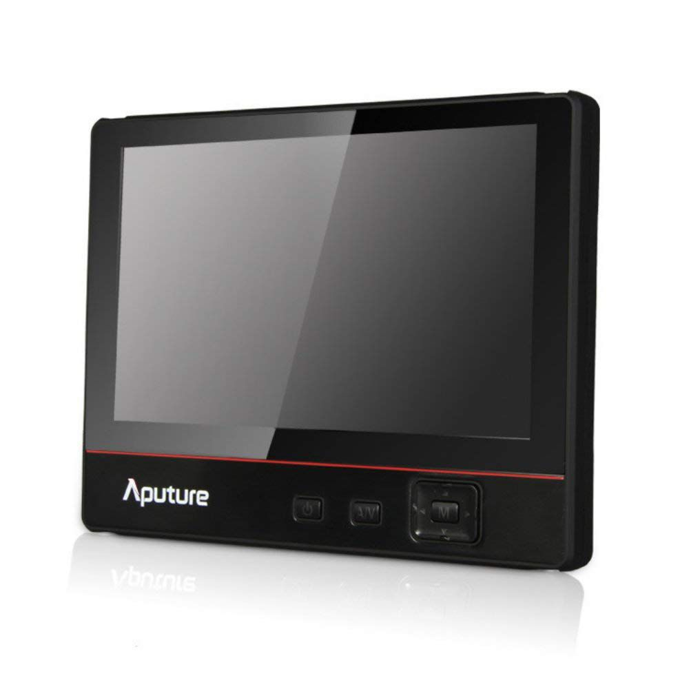 "Aputure VS-3 V-Screen 7"" IPS Field Monitor 1024 x 600 Native Resolution with Peaking, Dual Power Inputs, Sony L Series Type Battery Plate"