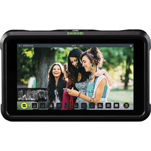 "Atomos Shinobi SDI 5"" 3G-SDI 4K HDMI Pro Monitor with 5"" Accessory Kit"