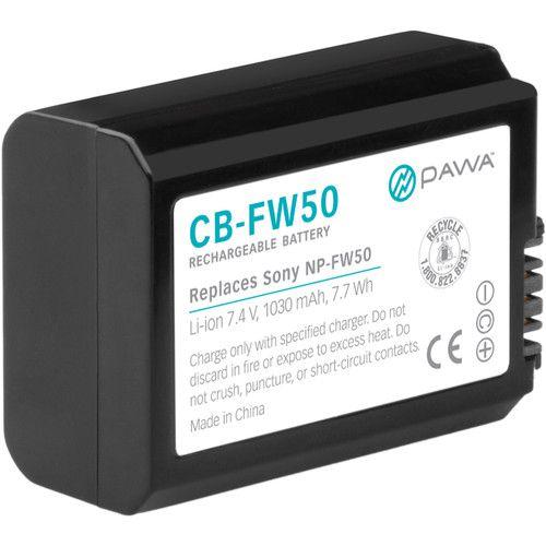 Bateria Pawa NP-FW50 de íons de lítio (7.4V, 1030mAh)