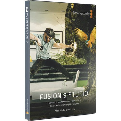 Blackmagic Design Fusion 9 Studio para Mac e Windows