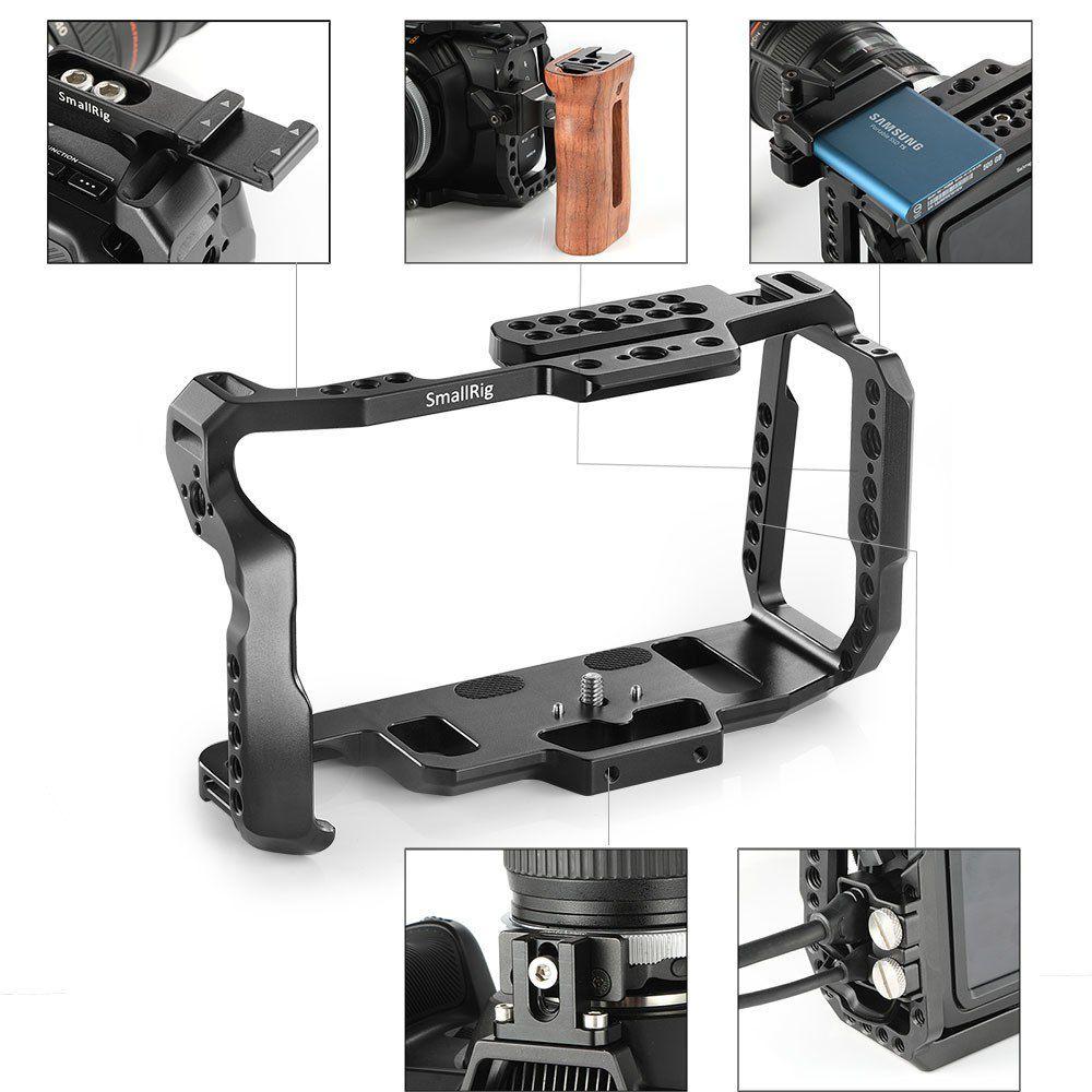 Cage SmallRig para Blackmagic Pocket Cinema Camera 4K e 6K
