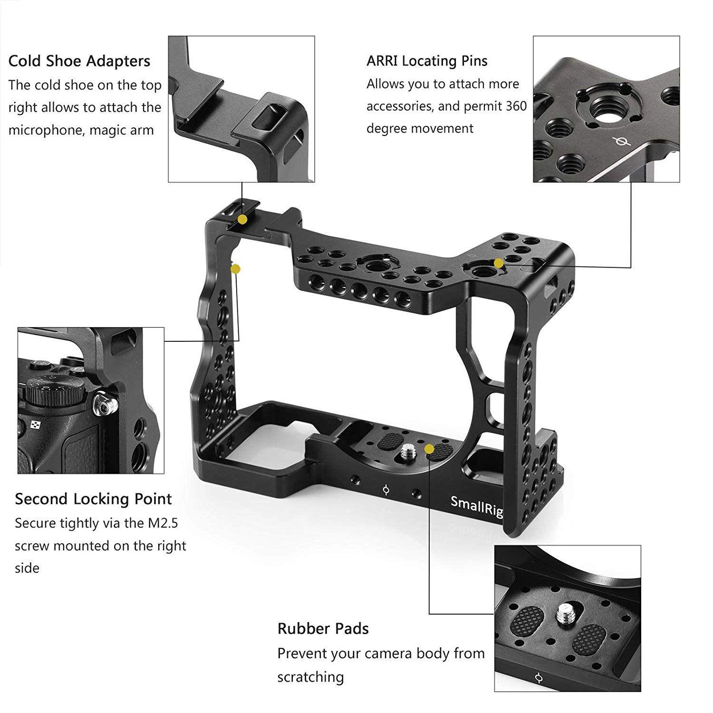 Cage  SmallRig para Câmera Sony Alpha A7III-2087