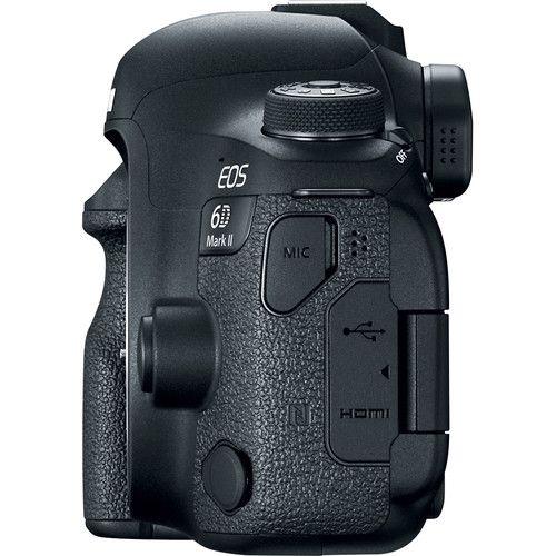 Camera Canon EOS 6D Mark II DSLR Camera (Body Only)