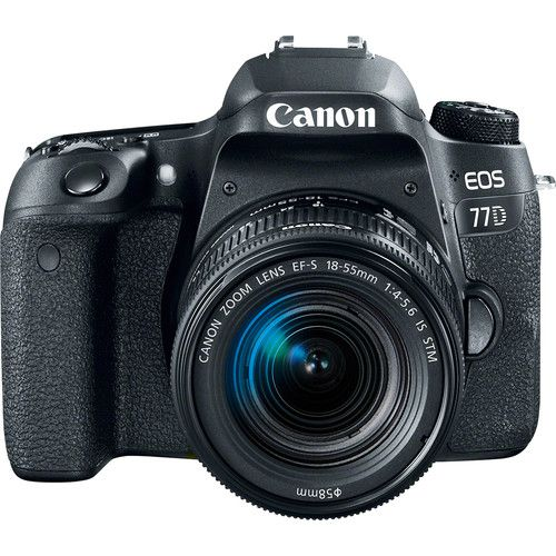 Camera Canon Eos 77D 18-55MM F/3.5-6.3 Is STM