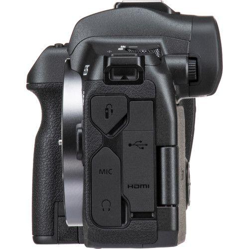 Camera Canon Eos R Corpo com Adaptador Eos R para Lentes Ef/Ef-s