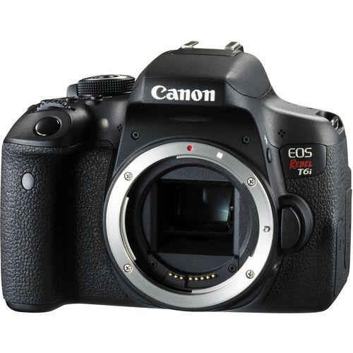 Camera Canon Eos Rebel T6I Corpo