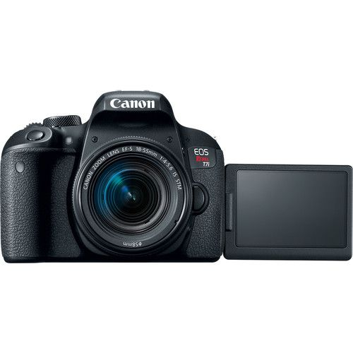 Camera Canon Eos Rebel T7I DSLR Kit 18-55 Is STM
