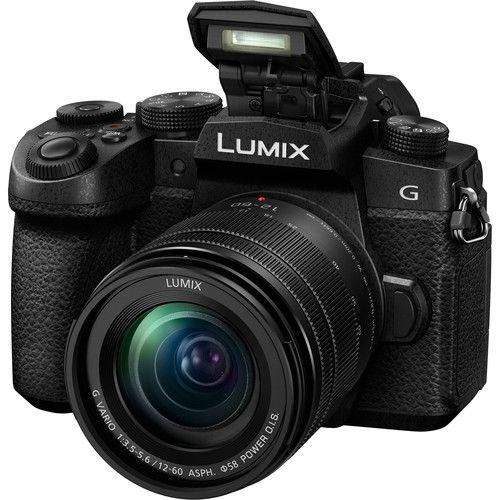 Câmera digital sem espelho Panasonic Lumix DC-G95 com lente de 12-60mm
