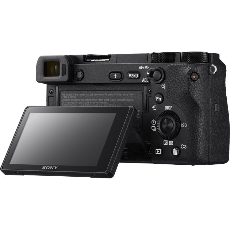 Camera Sony Alpha a6300 Mirrorless Digital Camera with 16-50mm Lens and Accessory Kit (Black)