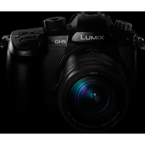 Panasonic Lumix DC-GH5 Mirrorless Micro Four Thirds Digital Camera