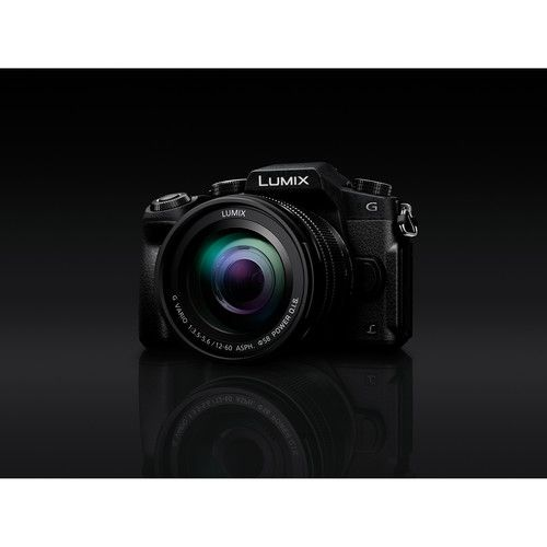 Câmera Panasonic Lumix DMC-G85 Mirrorless Micro Four Thirds Digital Camera with 12-60mm Lentes