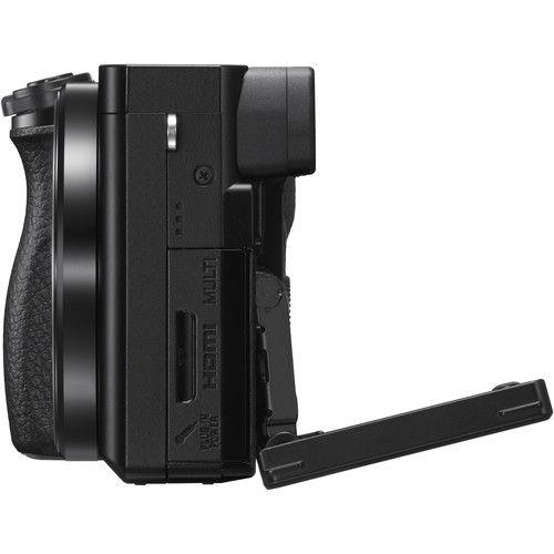 Câmera Sony A6100 Kit 16-50mm F/3.5-5.6 OSS + 55-210mm F/4.5-6.3 OSS