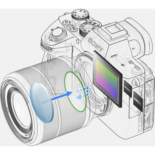 Câmera Sony Alpha ILCE-7 III Kit 28-70MM Preto