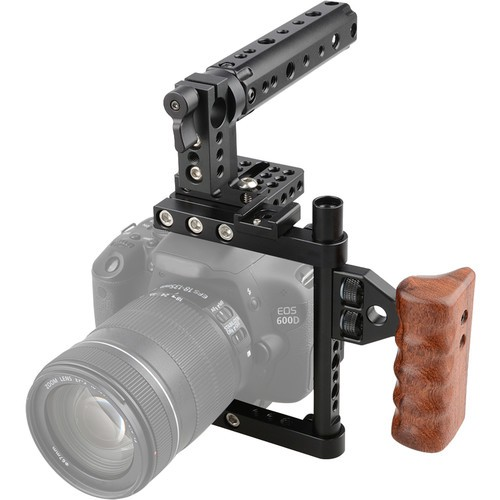 CAMVATE Camera Cage With Top And Left-Side Handle