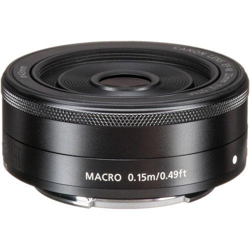 Canon EF-M 22 mm F2 STM Sistema compacto Lentes fixas
