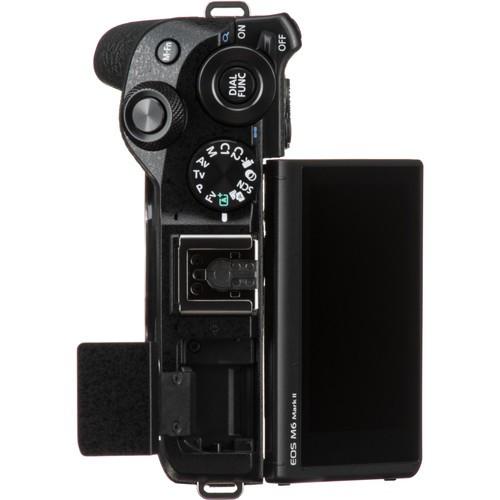 Canon EOS M6 Mark II Câmera Digital Sem Espelho (Preto, Somente Corpo)