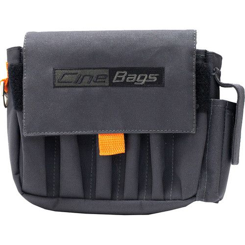 CineBags CB-03 AC Pouch (Gray with Orange Webbing)