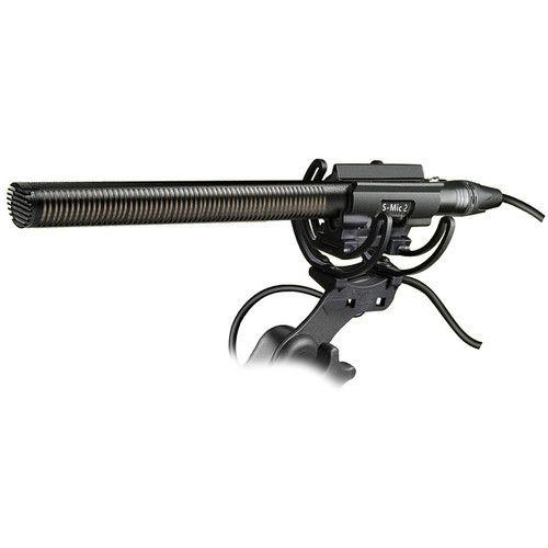 Deity Microphones S-Mic 2 Location Kit Moisture-Resistant Shotgun Microphone with Pistol Grip Shockmount and Windjammer