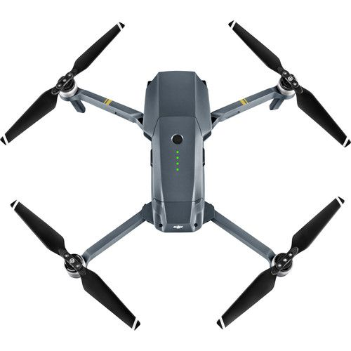Drone Dji Mavic Pro FLY More Combo - Cinza