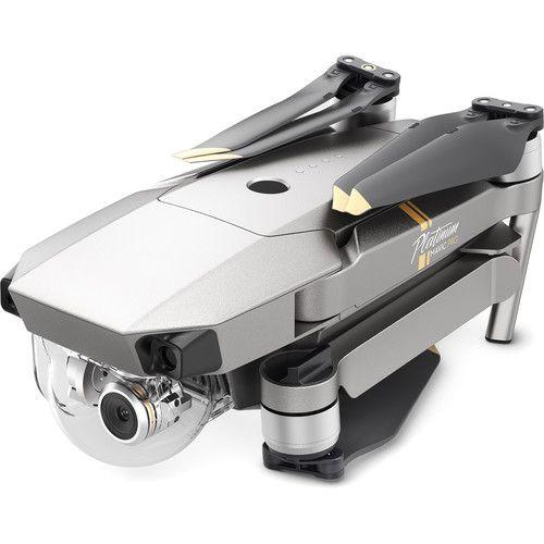Drone Dji Mavic Pro Platinum FLY More Combo-Prata