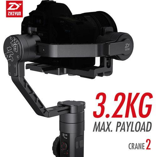 Estabilizador Zhiyun-Tech Crane II com Servo Follow Focus