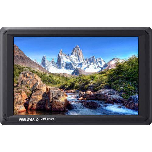 """FeelWorld 7 """"Monitor Ultra Brilhante de 4K com HDMI e 3G-SDI"""