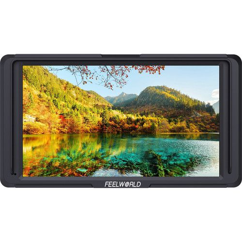 FEELWORLD F5 5 Inch DSLR Camera Field Monitor IPS Small Full HD 1920x1080 Video Focus Assist with 4K HDMI 8.4V DC Input
