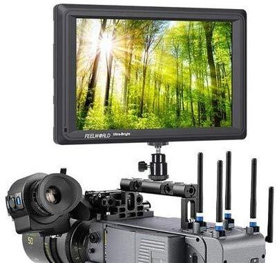 feelworld fw279s 7 polegadas 2200 nit luz Visível Câmera Campo monitor 3 g-sdi 4 K HDMI saída de entrada 1920 x 1200