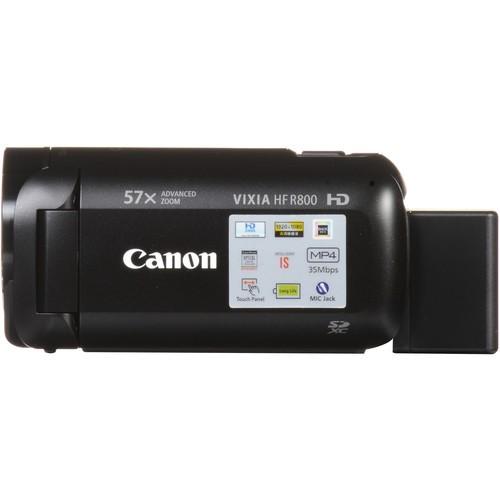 Filmadora Canon VIXIA HF R800 (preta)