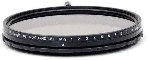 Filtro SLR Magic 82mm MK II de densidade neutra variável (ND) - 0,4 a 1,8 (2,3 a 6 pontos)